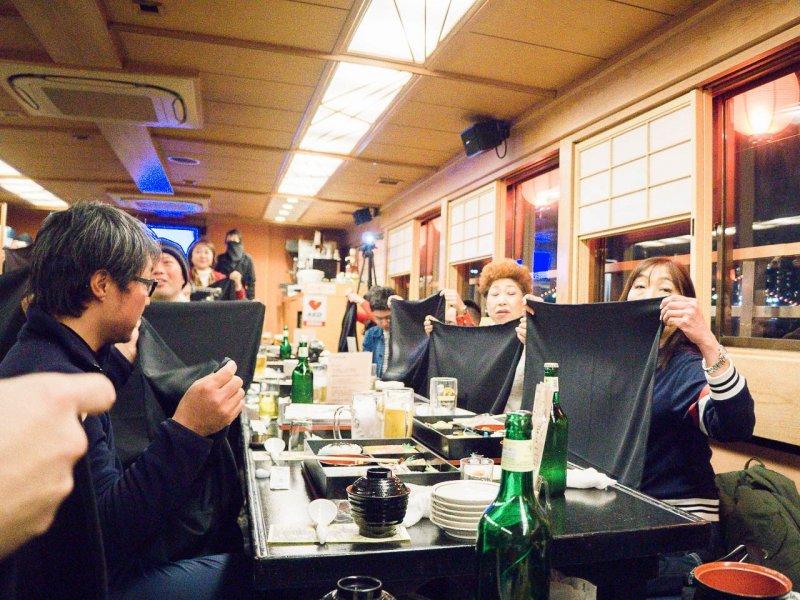 Nightlife, Tokyo Yakatabune Association Ninja Themed Cruise, Ninja Themed Cruise in Tokyo