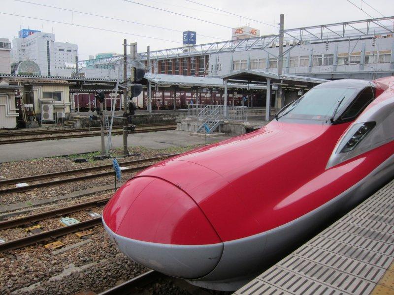 Akita, Akita City, Transportation, from Tokyo, to Tokyo, Samurai Town, Tokyo to Akita by Super Komachi
